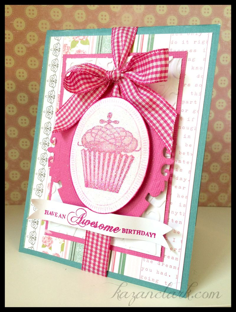 Cupcakebirthdaycard