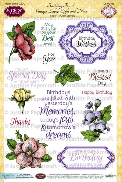CR-02106_Birthday_Floral_Vintage_Labels_Eight_and_Nine_LG