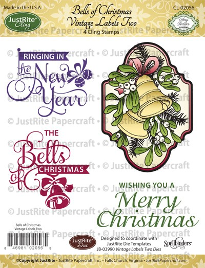 CL-02056_Bells_of_Christmas_Vintage_Labels_Cling_Stamps_LG