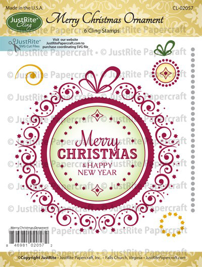 CL-02057_Merry_Christmas_Ornament_Cling_Stamps_LG