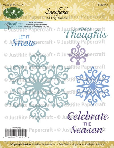 CL-02053_Snowflakes_Cling_Stamp_LG