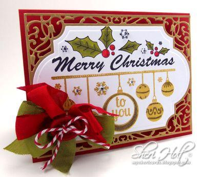 Sheri Holy Merry Christmas Sentiment