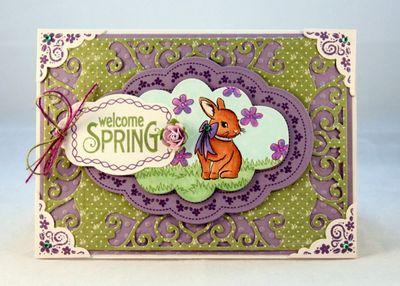 Kristi Schurr Welcome Spring