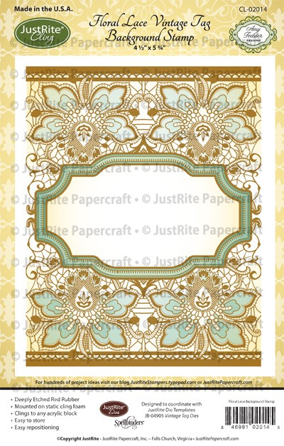 CL-02014_Floral_Lace_Vintage_Tag_Cling_Background_Stamp_LG