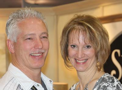Cindy & Kevin Echitnaw at CHA Winter 2014