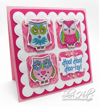 Owl Be There Sheri Holt