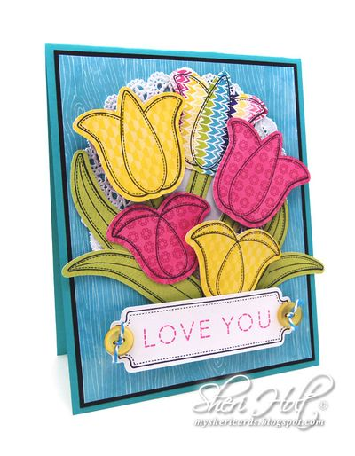 Applique Flowers Sheri Holt