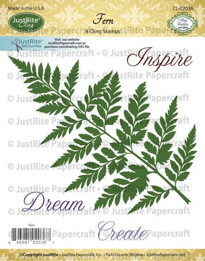 CL-02036_Fern_Cling_Stamps