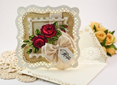 Becca Feeken Rose Bouquet