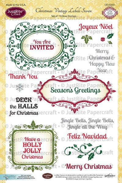 CR-02051_Christmas_Vintage_Labels_Seven_Clear_Stamps_LG