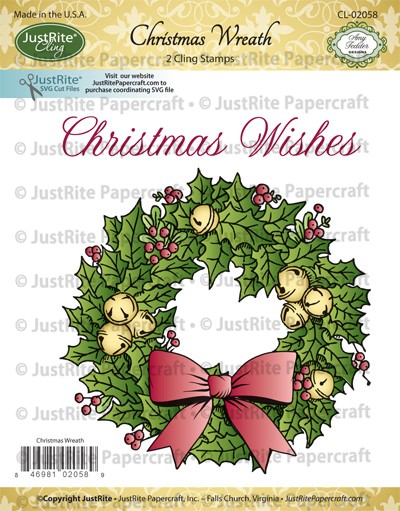 CL-02058_Christmas_Wreath_Cling_Stamp_Set_LG