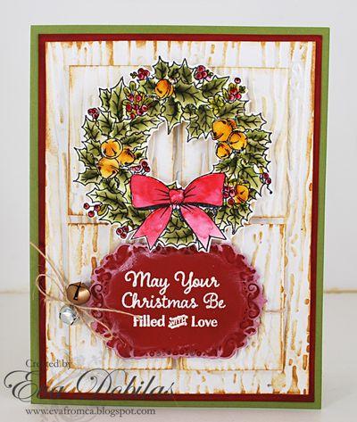 ChristmasWreathCardEvaDobilas