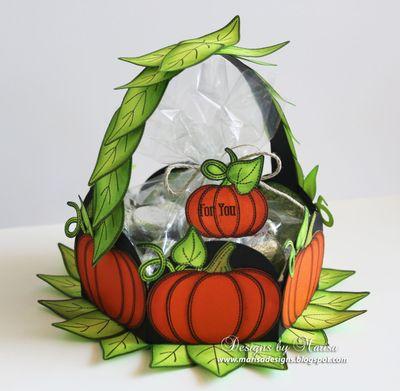 Marisa Job Pumpkin Basket