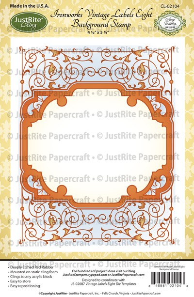 CL-02104_Ironworks_Vintage_Labels_Eight_Cling_Background_Stamp_LG