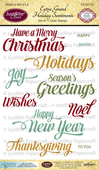 CR-02133_Extra_Grand_Holiday_Sentiments_Clear_ Stamps