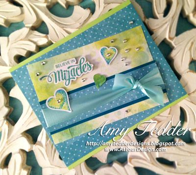 ATYD Bokeh Time Card Believe in Miracles SHORTER