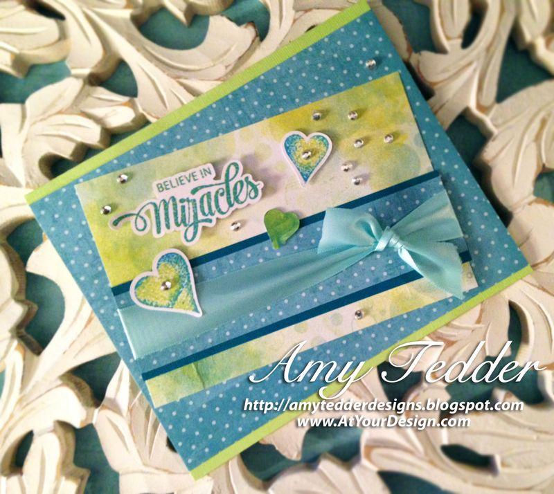 ATYD Bokeh Time Card Believe in Miracles SHORTER