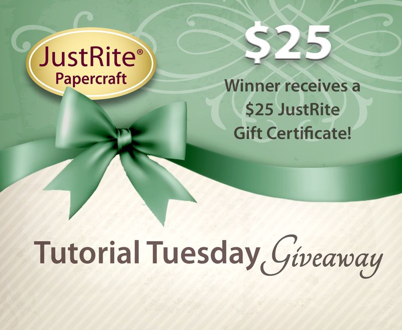 JR Tuesday Tutorial Gift Certificate 25