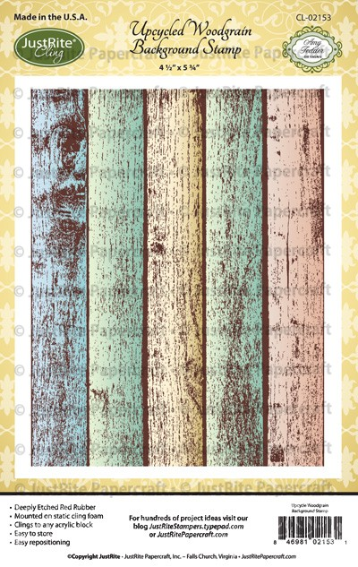 CL-02153_Upcycled_Woodgrain_Background_Cling_Stamps