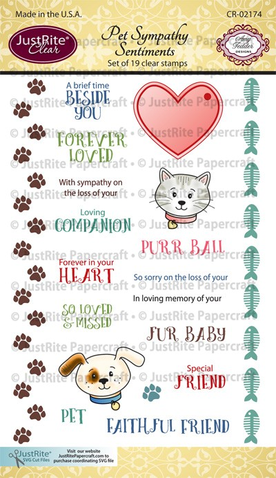 CR-02174_Pet_Sympathy_Sentiments_Clear_Stamps