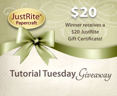 JR Tuesday Tutorial Gift Certificate 20