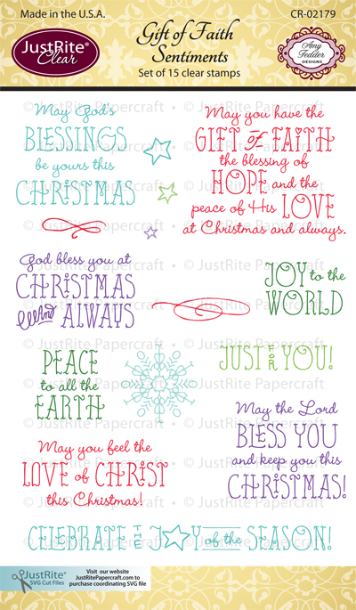 CR-02179_Gift_of_Faith_Sentiments_Clear_Stamps