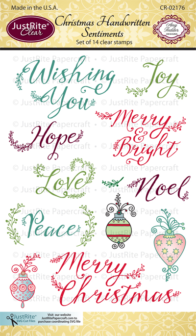 CR-02176_Christmas_Handwritten_Sentiments_Clear_Stamps