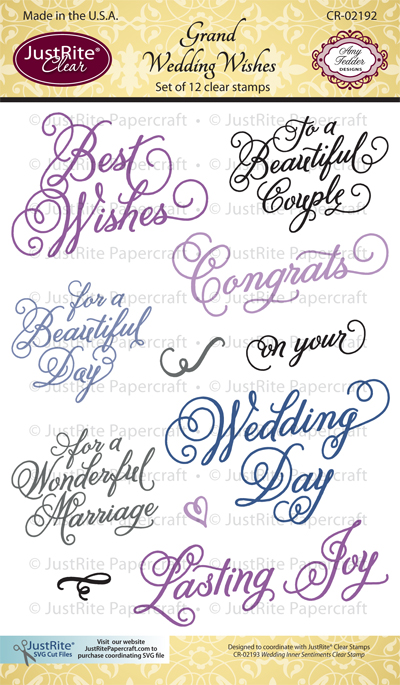 CR-02192_Grand_Wedding_Wishes_Clear_Stamps