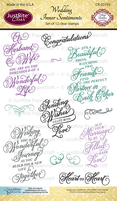 JR CR-02193_Wedding_Inner_Sentiments_Clear_Stamps