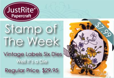 Vintage Labels Six Stamp of the week