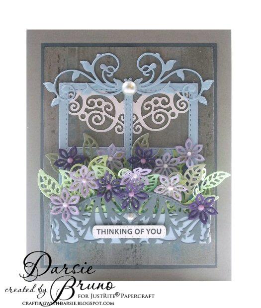 FloralWindowCard