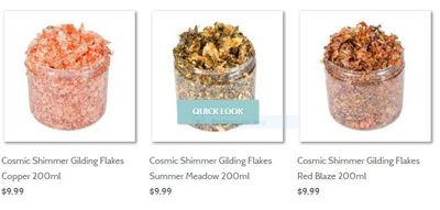 Cosmic Shimmer Gilding Flakes