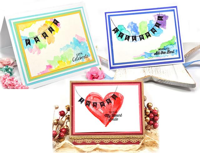 Banner Cards Trio Jennifer Synder
