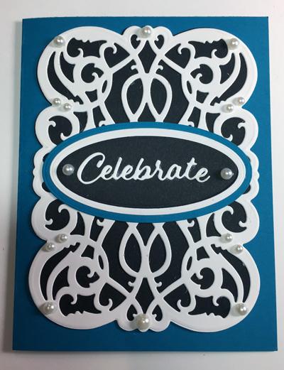 Celebrate Vertical A2 Graceful Lines