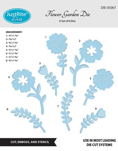 DIE-05067_Flower_Garden_Dies