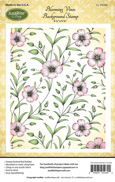 CL-05089_Blooming_Vines_Cling_Background_Stamp