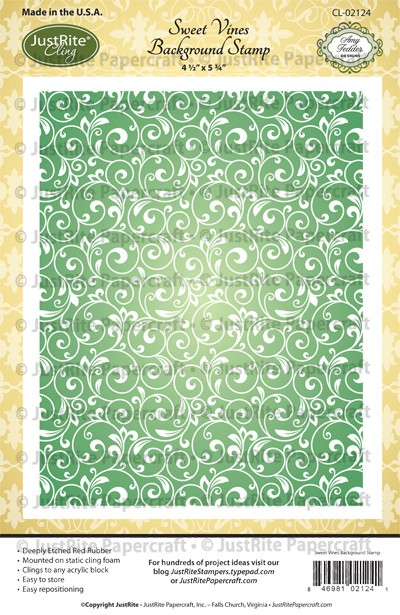 CL-02124_Sweet_Vine_Cling_Background_Stamp