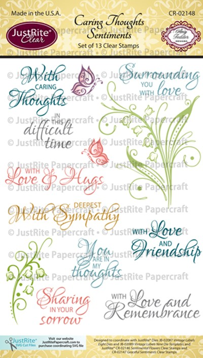 CR-02148_Caring_Thoughts_Sentiments_Clear_Stamps