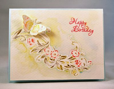 HappyBirthdaySentimental Flowers Eva Dobilas