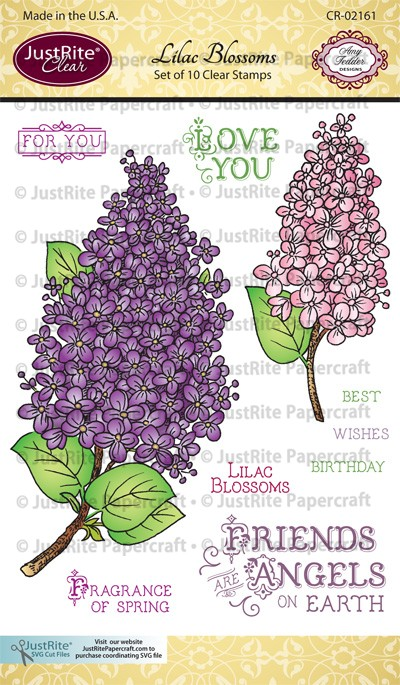 CR-02161_Lilac_Blossoms_Clear_Stamps