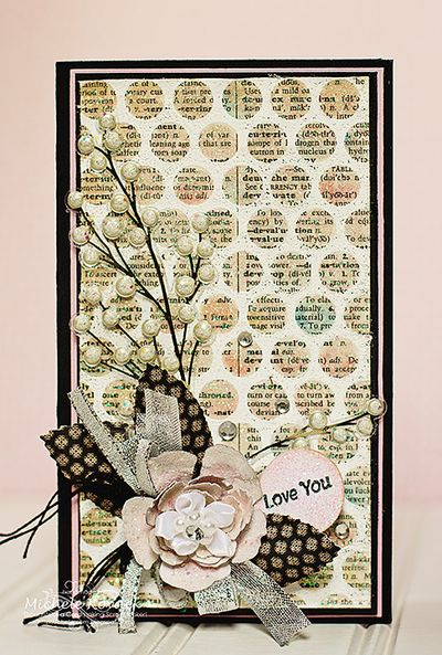 Michele Kovack Honeycomb Background Stamp
