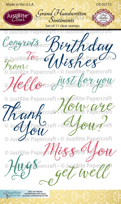 CR-02172_Grand_Handwritten_Sentiments_Clear_Stamps