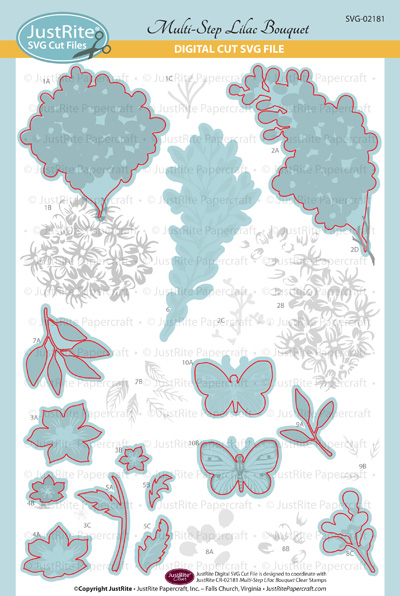 SVG-02181 Multi-Step Lilac Bouquet LG Clear WEB