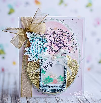 JustRite_Peonies_Clear_Stamps_Michele_Kovak