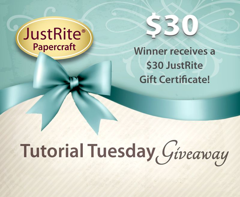 JR Tutorial TuesdayGift Certificate thirty dollars