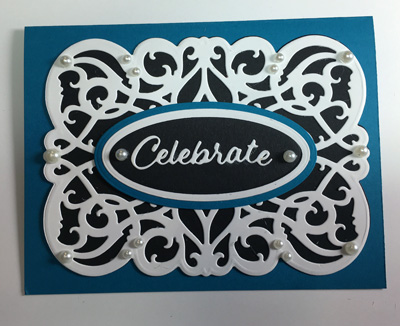 Celebrate Horizontal A2 Graceful Lines