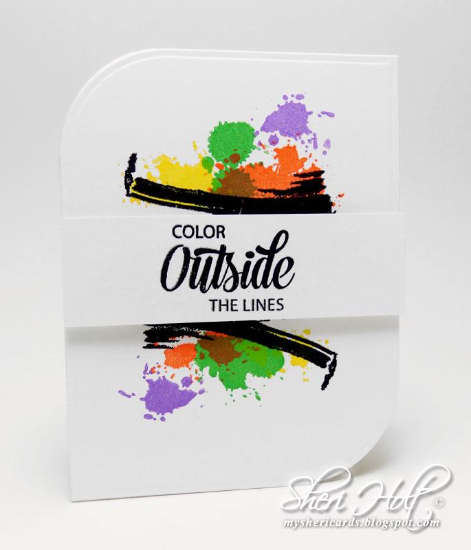 Sheri Holt Colorful Brush Strokes