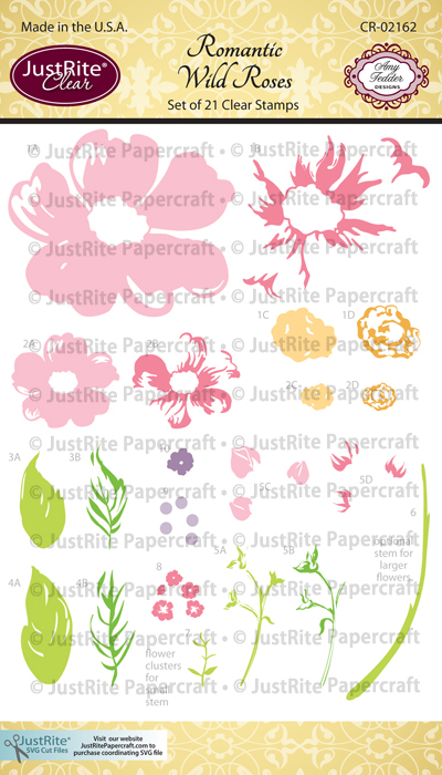 CR-02162_Romantic_Wild_Roses_Clear_Stamps