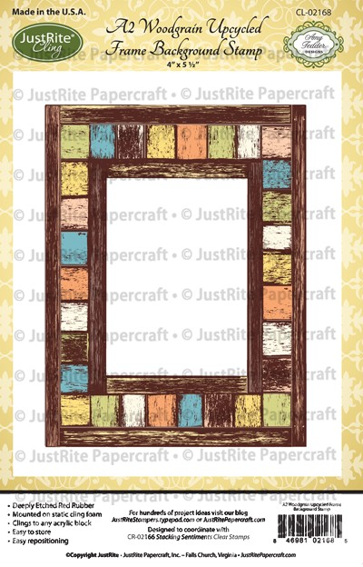 CL-02168_ A2_Woodgrain_Upcycled_Frame_Cling_Background_Stamp
