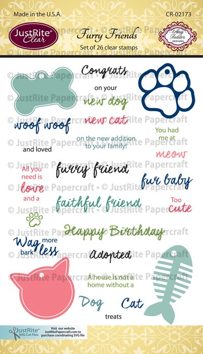 CR-02173_Furry_Friends_Clear_Stamps